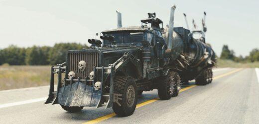Najnowszy film Mad Max – pojazdy na wyciągnięcie ręki
