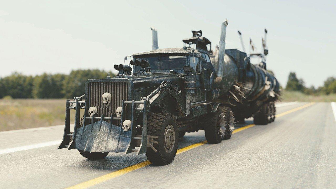 Najnowszy Film Mad Max - pojazdy