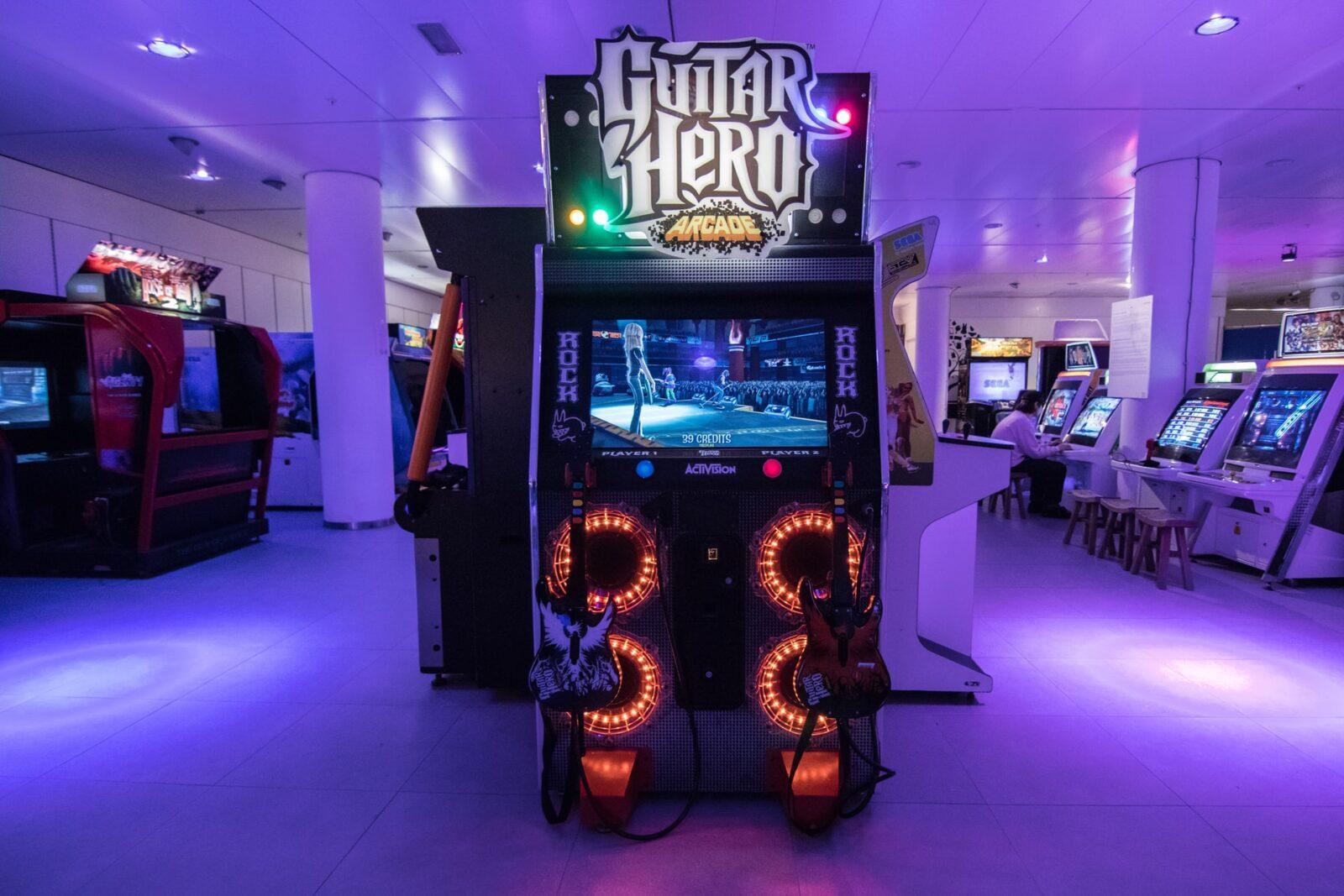 Gry muzyczne - Guitar Hero