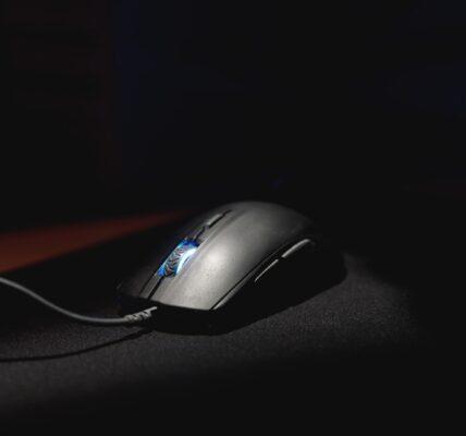 Pionowa mysz komputerowa
