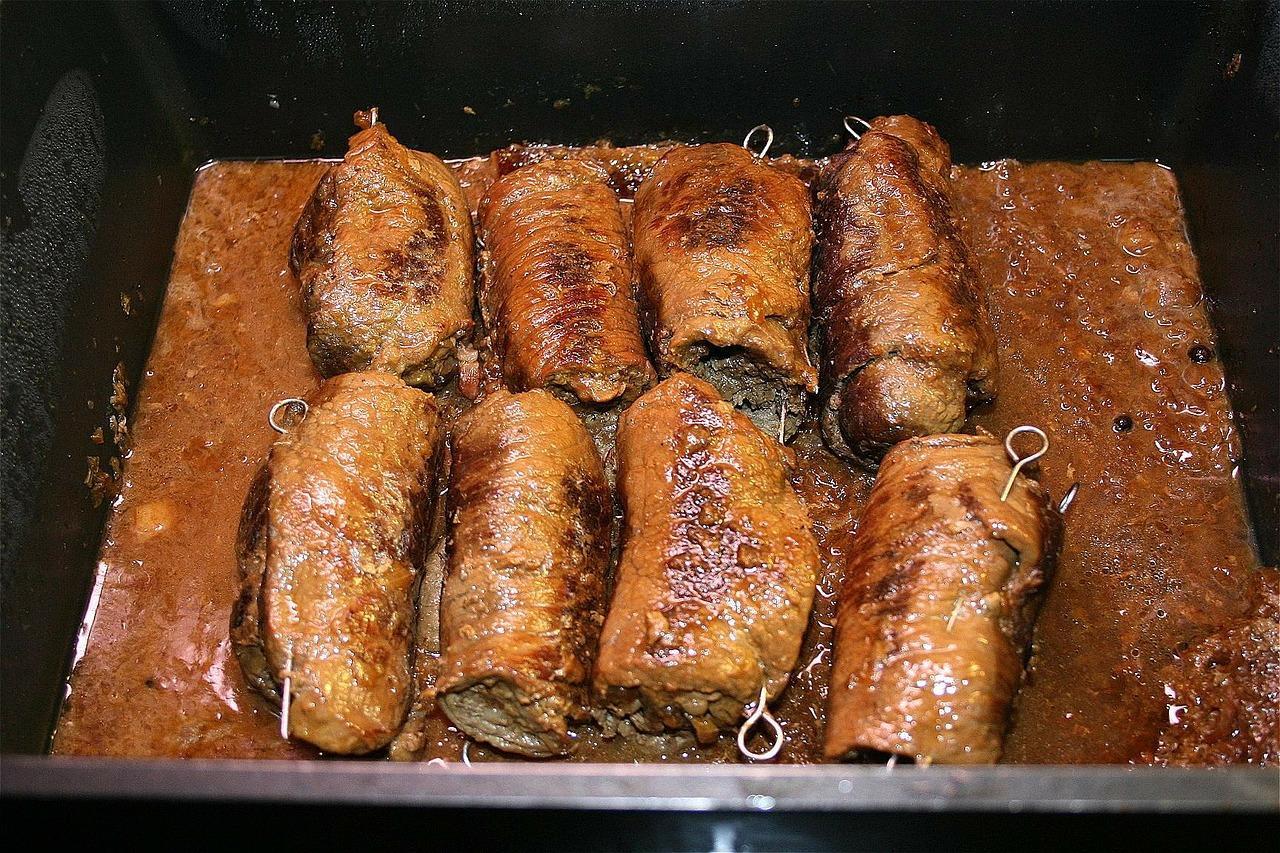 śląski obiad - rolady