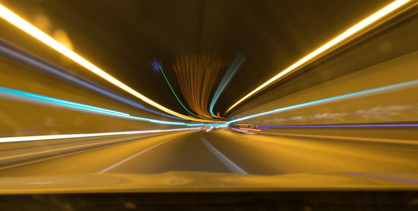 oświetlenie tuneli