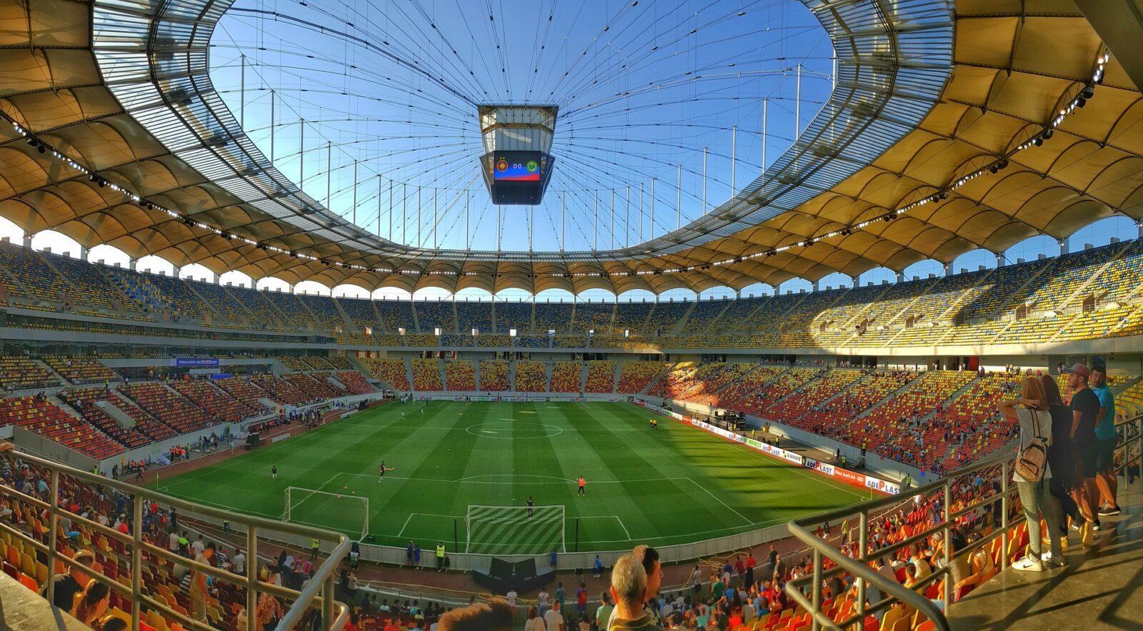 Zaawansowany technologicznie stadion
