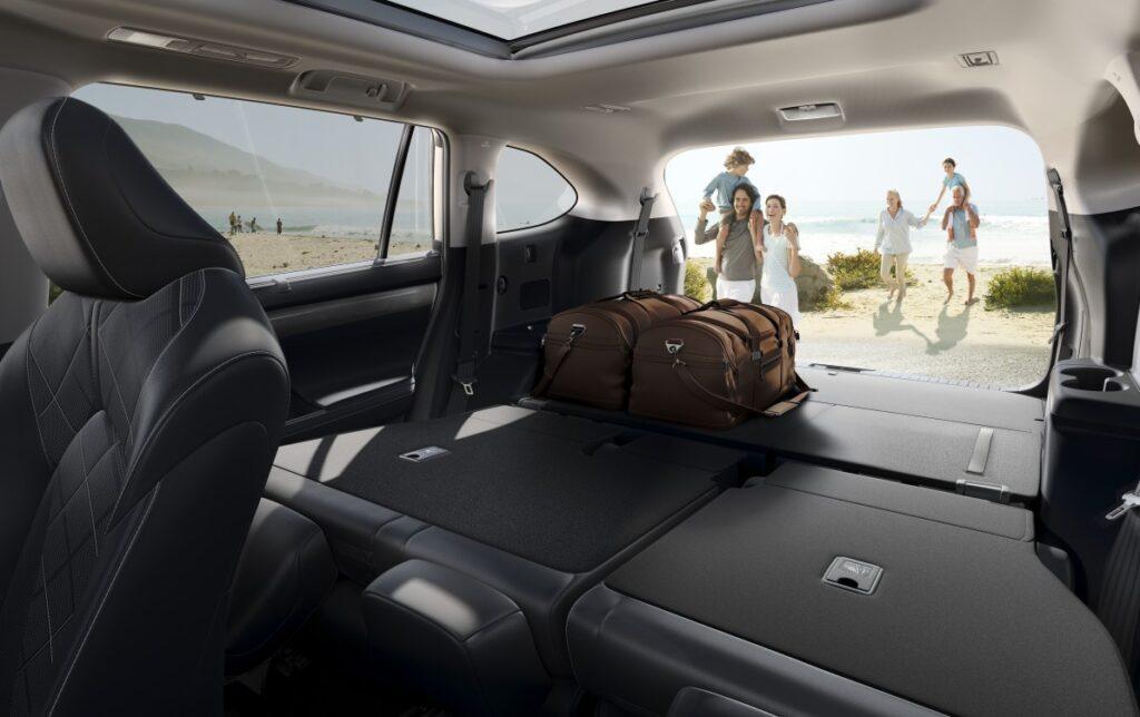 bagażnik Toyota Highlander